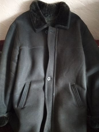 Куртка мужская зима р.52-54 натуральная кожа