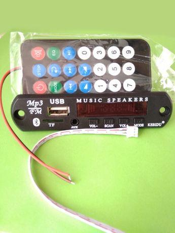 Модуль МП-3 плеера с Bluetooth 5,0 и USB
