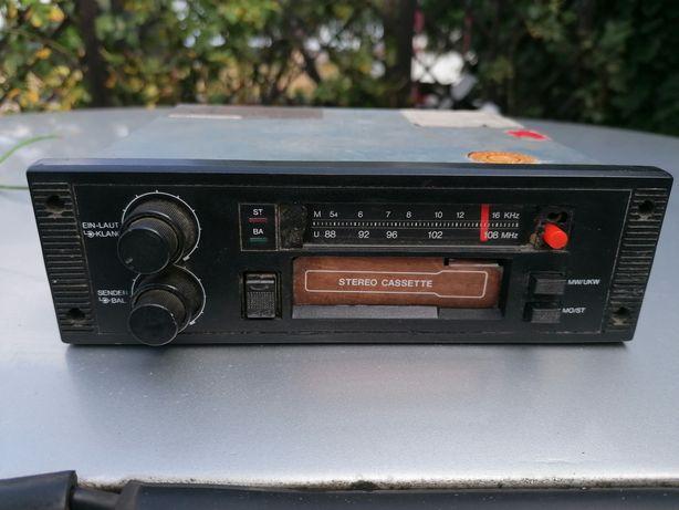 Radio samochodowe stare cf 100sk kaseta orginalne unikat