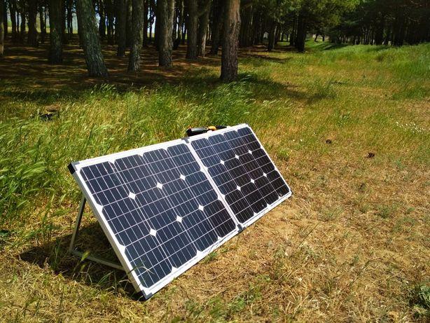 Портативная солнечная станция (батарея) 100Вт
