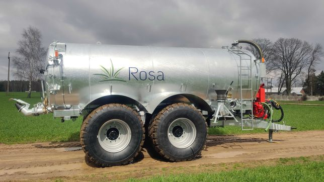 Wóz asenizacyjny 16000 litrów ROSA tandem - beczkowóz, beczka