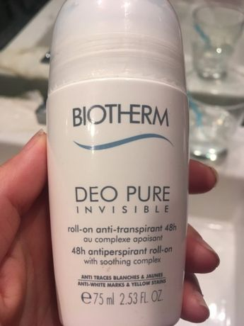 Biotherm Deo Pure invisible 48h - Antyperspirant roll on