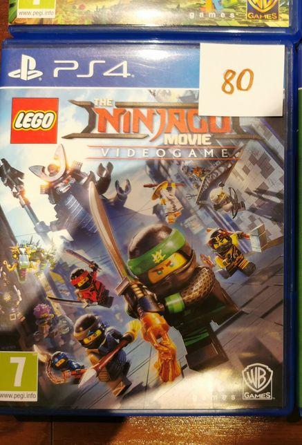 Gra ps4 lego ninjago videogame