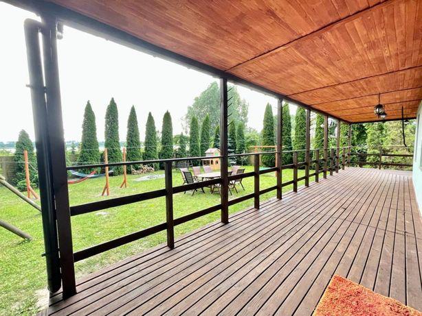Domek nad jeziorem z prywatnym ogródkiem, Bon Turystyczny