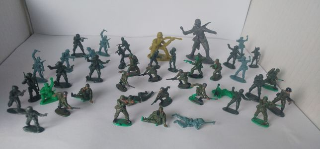 Żołnierzyki Żołnierze zabawki ludziki zestaw żołnierzyków