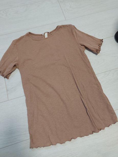 Bluzka ciążowa krótki rękaw HM roz S