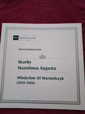 Folder emisyjny Skarby Stanisława Augusta