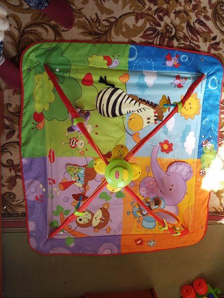Продам развивающий коврик Tiny Love Разноцветное сафари 5 в 1