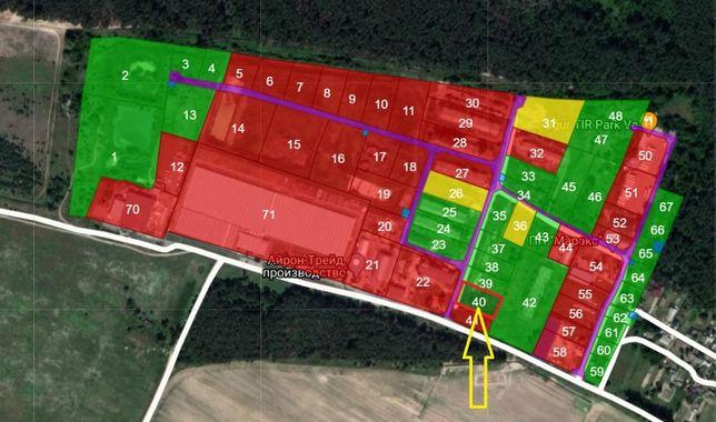 Продажа зем.участка 24 сотки. Собственность. Залесье, Бровары