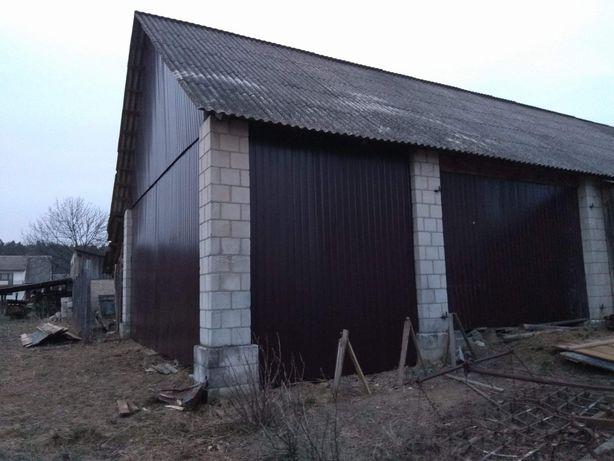 Stodoła wymiana deski blacha skup starego drewna rozbiórki stodół