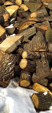 Drewno dębowe sezonowe
