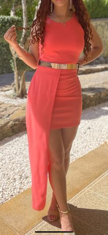 Vestido de festa, rosa. 20€