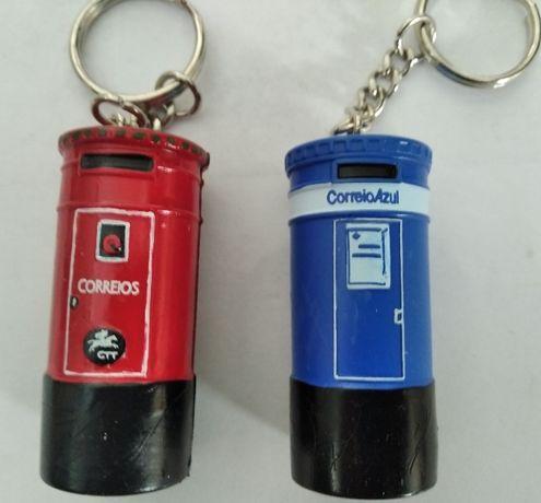"""Porta-chaves """"marco de correio"""" (2)"""