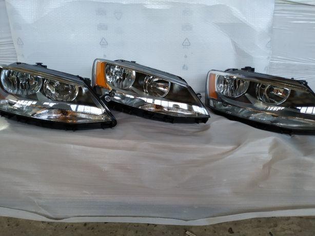 Volkswagen Jetta Бампер передний, Фара, Капот, Крыло, решетка, туманка