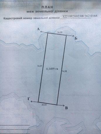 Продам земельну ділянку для будівництва