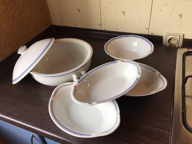 Салатница супница сервиз блюдо тарелки