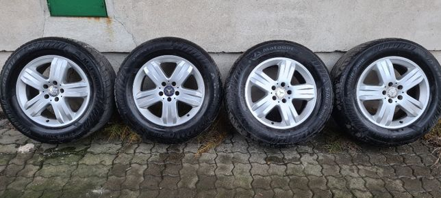 koła zimowe Mercedes ML 17 cali bdb