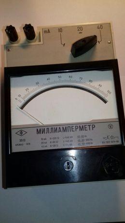 Образцовый миллиамперметр Э513