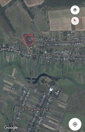 Продам земельный участок Галициновка Донецкой области