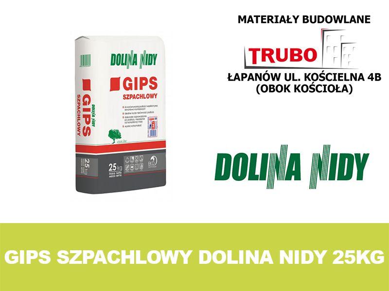 Gips szpachlowy DOLINA NIDY szary 25kg Łapanów - image 1