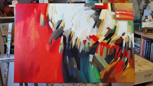 "Quadro  ""Abstracto"" óleo sobre tela."