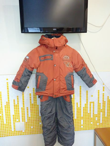 Зима для мальчика на р104-110