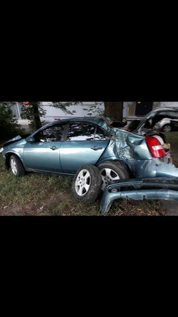 Nissan primera p12 после дтп