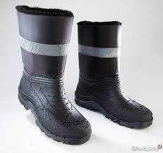 Buty zimowe z ciepłą podszewką i odblaskiem R.41 ...