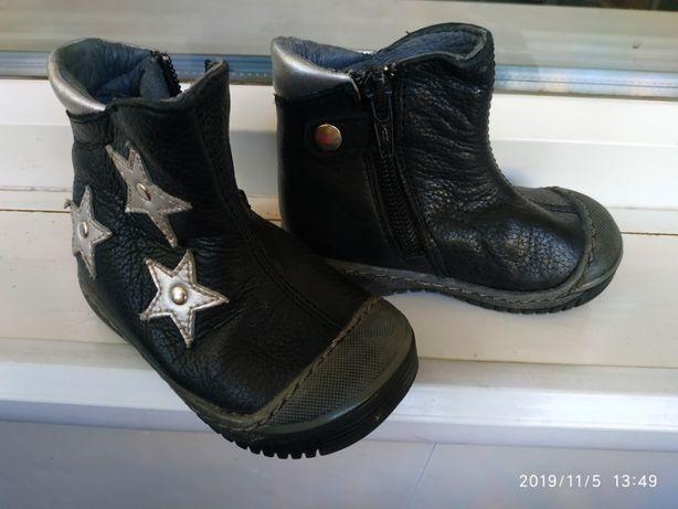 Кожаные демисезонные ботинки Dr.Visser для девочки, 20 размер