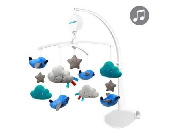 Музыкальный мобиль на кроватку BabyOno Planes