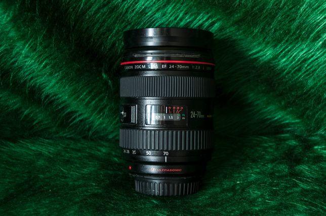 Canon 24 70 f2.8 L первая версия