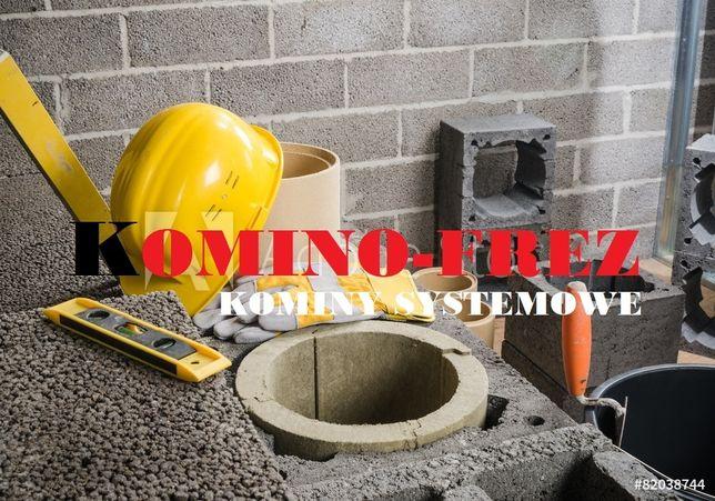 Specjalistyczne usługi kominowe, frezowanie kominów, montaż wkładów