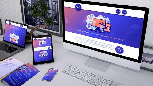 Strony www, sklepy internetowe, portale