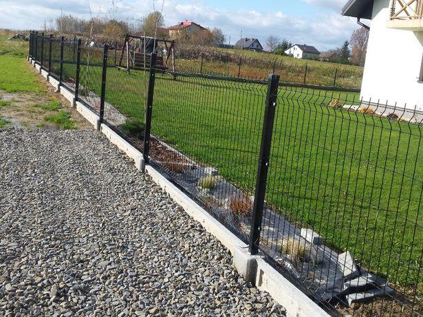 Kompletne ogrodzenie panelowe 48.55zl metr bieżący