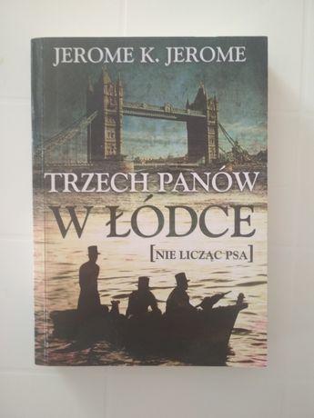 Książka Trzech panów w łódce