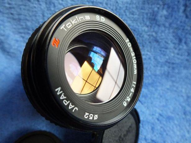 Obiektyw Tokina SD 70-210mm 1:4 - 5.6 Nikon, Contax/ YASHICA + tuba