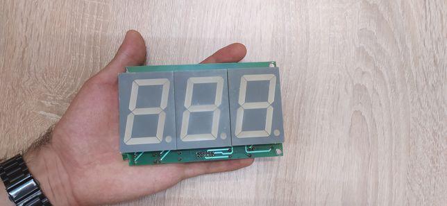 Большой семисегментный индикатор , цифры , arduino LED, дисплей