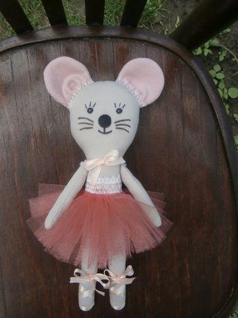 Текстильная кукла Мышка - балерина