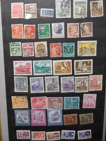 stare znaczki pocztowe każdy inny komplet