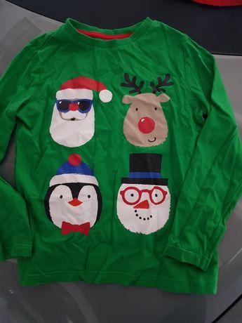 Koszulka z motywem świątecznym 122 f&f