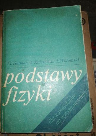 Podstawy fizyki M.Herman,A. Kalestyński , L.Widomski
