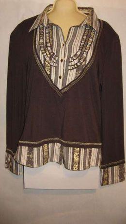 bluzka z wiskozy damska