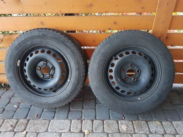 Vw t5 t6 koła zimowe 5x120 Bridgestone blizzak w800 215/65/16c volksw