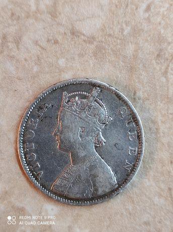1 рупія 1862 року Британської імперії.