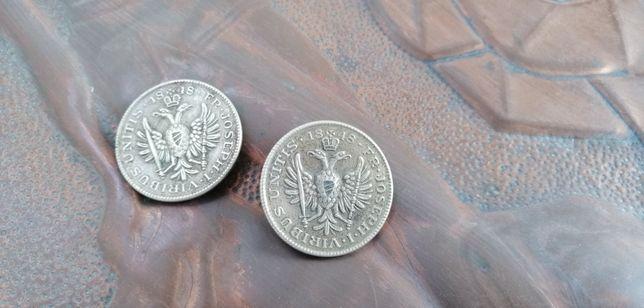 2x guzik 1848 FR Joseph I Viribus Unitis