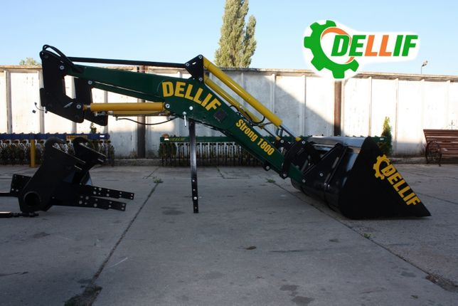 Погрузчик на трактор МТЗ КУН Деллиф Стронг 1800 с ковшом 1.6 метра