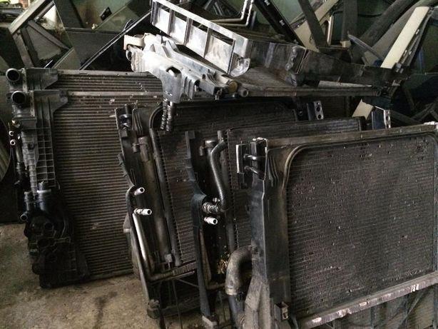 BMW X5 X6 E71 е53 e70 радиатор патрубок вентилятор охлаждения дифузор
