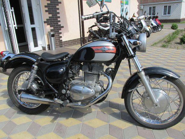 Японский мотоцикл KAWASAKI ESTRELLA без пробега по Украине