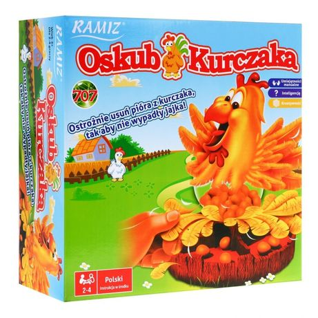 Gra Kura Oskub Kurczaka