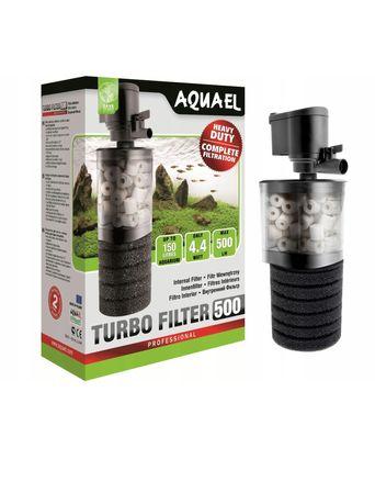AQUAEL TURBO 500 Filtr wewnetrzny do akwarium 60-150 l. POLSKI
